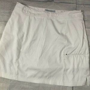 GREG NORMAN Perfect Fit Sz 8 Pleated Golf Skort